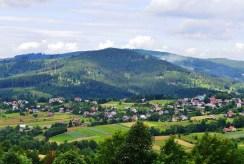 imponujący widok na pamoramę gór z okiem luksusowego dworu na sprzedaż Wisła (okolice)