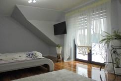 widok na sypialnię w ekskluzywnej willi do sprzedaży Grudziądz (okolice)