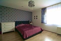 prywatna, zaciszna sypialnia w willi na sprzedaż Kraków