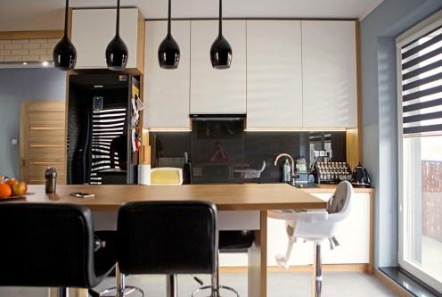 nowoczesna kuchnia w ekskluzywnym apartamencie do sprzedaży Konin