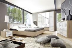 prywatna, elegancka sypialnia w luksusowym apartamencie na sprzedaż Grudziądz