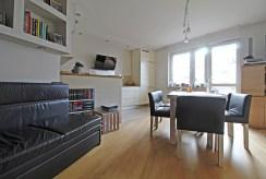 widok na prestiżowy salon w luksusowym apartamencie do sprzedaży Kraków