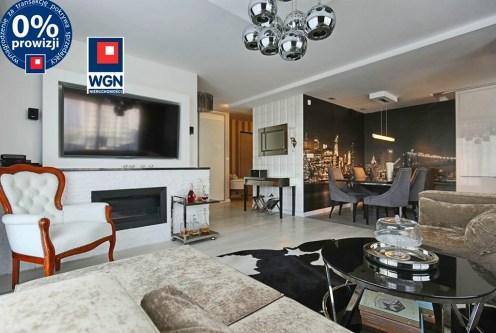 komfortowy salon w ekskluzywnym apartamencie do sprzedaży Trójmiasto