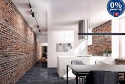 widok na komfortową, funkcjonalną kuchnię w ekskluzywnym apartamencie do sprzedaży Kraków