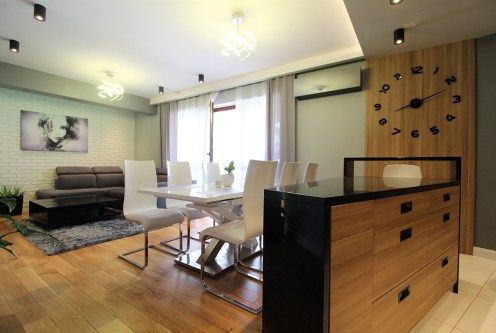prestiżowe wnętrze ekskluzywnego apartamentu do wynajęcia Kraków