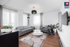komfortowy, designerski salon w luksusowym apartamencie do sprzedaży Gdańsk