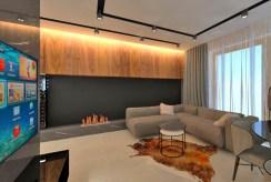 elegancki i prestiżowy salon w luksusowym apartamencie do sprzedaży Piotrków Trybunalski