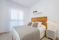 prywatna sypialnia w luksusowym apartamencie do sprzedaży Ciudad Quesad (Hiszpania)