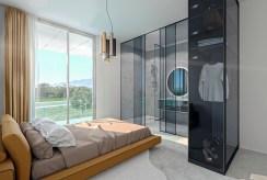 elegancka sypialnia w luksusowym apartamencie na sprzedaż Hiszpania (Orihuel)