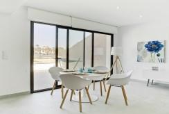 na zdjęciu komfortowa jadalnia w luksusowym apartamencie na sprzedaż Hiszpania (Pilar De La Horadad)