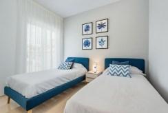 prywatna sypialnia w ekskluzywnej willi na sprzedaż