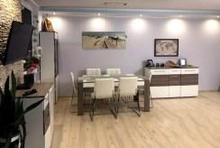 zbliżenie na jadalnię w ekskluzywnym apartamencie do sprzedaży Gdańsk