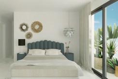 komfortowa sypialnia w luksusowym apartamencie do sprzedaży Guardamar De Segur (Hiszpania)