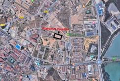 widok z lotu ptaka na prestiżową lokalizację, w której znajduje się oferowany na sprzedaż luksusowy apartament Hiszpania (San Pedro Del Pinata)