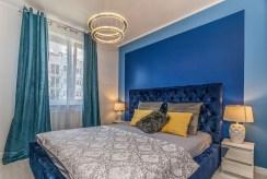 zaciszna i prywatna sypialnia w ekskluzywnym apartamencie na sprzedaż Gdańsk