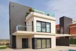 ciekawa architektonicznie bryła luksusowej willi do sprzedaży Hiszpania (San Miguel De Las Salina)