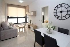 nowoczesny wystrój kuchni w ekskluzywnym apartamencie na sprzedaż Hiszpania (Torreviej)