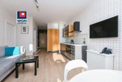 widok na aneks kuchenny w luksusowym apartamencie na sprzedaż Gdynia (okolice)