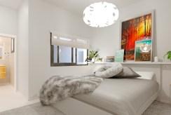 prywatna, kameralna sypialnia w ekskluzywnym apartamencie do sprzedaży Torreviej (Hiszpania)