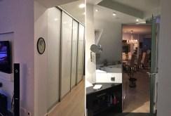 przedpokój oraz łazienka w ekskluzywnym apartamencie do wynajęcia Wrocław
