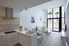 komfortowy i prestiżowy salon w luksusowej willi na sprzedaż Hiszpania