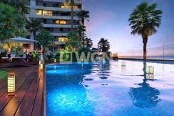 prestiżowy basen na terenie kompleksu, w którym znajduje się ekskluzywny apartament Hiszpania (Costa Blanca Torrevieja, Punta Prima)