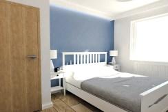 prywatna sypialnia w luksusowym apartamencie do sprzedaży Ostrów Wielkopolski