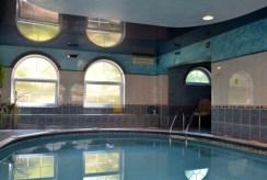 zdjęcie prezentuje ekskluzywny basen przy luksusowej willi na sprzedaż Katowice (okolice)