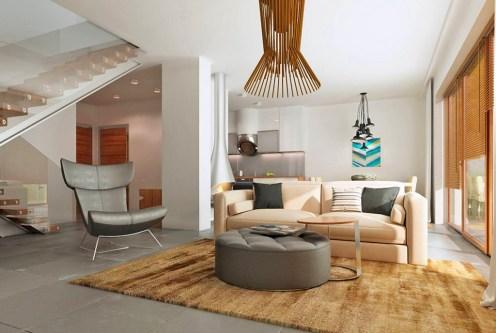 designerski salon w ekskluzywnej willi do sprzedaży Kalisz