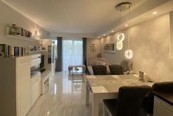 słoneczne wnętrze luksusowego apartamentu na sprzedaż Szczecin