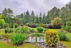 przepięknie zadbana działka z ogrodem wokół ekskluzywnej willi do sprzedaży Częstochowa (okolice)