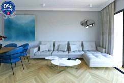 druga strona salonu w luksusowym apartamencie na sprzedaży Katowice (okolice)