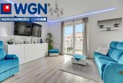wytworny pokój dzienny w ekskluzywnym apartamencie do sprzedaży Gdańsk (okolice)