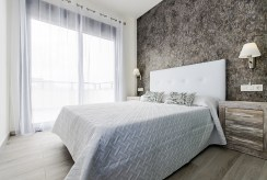 prywatna sypialnia w luksusowym apartamencie do sprzedaży Hiszpania (Torre de la Horadada, Alicante)
