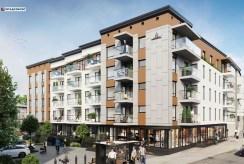 wizualizacja osiedla, na którym znajduje się oferowany do sprzedaży luksusowy apartament na sprzedaż Legnica