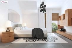 zaciszna sypialnia w ekskluzywnej willi na sprzedaż Kalisz