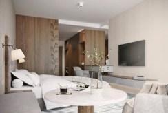 zaciszna sypialnia w ekskluzywnym apartamencie na sprzedaż Jelenia Góra (okolice)