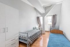 elegancka sypialnia w ekskluzywnym apartamencie do wynajęcia Szczecin