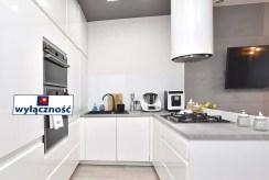 nowoczesna kuchnia w luksusowym apartamencie na sprzedaż Inowrocław