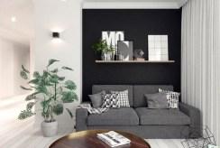 fragment salonu w ekskluzywnym apartamencie na wynajem Częstochowa
