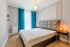 zaciszna sypialnia w luksusowym apartamencie na sprzedaż Gdańsk