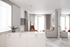 wytworne wnętrze ekskluzywnego apartamentu do sprzedaży nad morzem