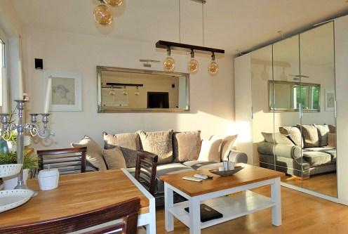 wytworny salon w ekskluzywnym apartamencie do sprzedaży Ostrów Wielkopolski