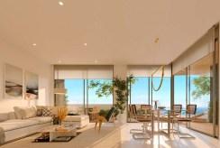 wytworne wnętrze luksusowego apartamentu na sprzedaż Hiszpania