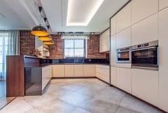 nowoczesny design w kuchni ekskluzywnej willi na sprzedaż Katowice