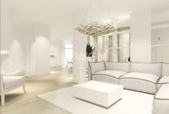 zaaranżowane zgodnie z najnowszymi trendami wnętrze ekskluzywnego apartamentu do sprzedaży w Szczecinie