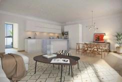 umeblowana kuchnia w luksusowym apartamencie na sprzedaż za 99 000 EUR Hiszpania Fuengirola, Malaga, Costa del Sol