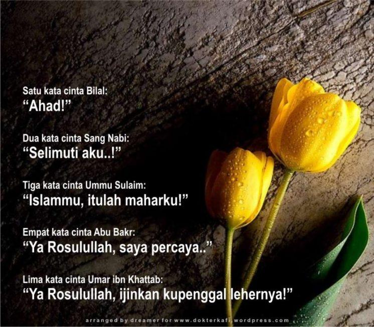 470 Kumpulan Kata Kata Mutiara Islam Tentang Cinta Dan