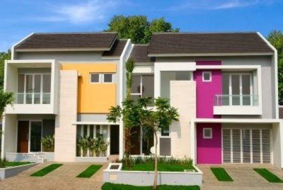 Warna Cat Rumah Minimalis Tampak Depan 2018