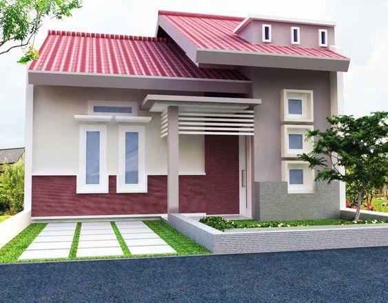 Warna Cat Rumah Minimalis simpel dan sederhana